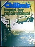 Chilton's Motorage Professional Import Car Repair Manual