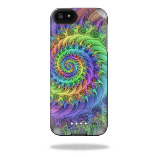MightySkins Protective Vinyl Skin Decal Cover for Mophie Juice Pack Helium iPhone SE/5s/5 External Battery Case wrap sticker skins Tripping -  MJHEIP5-Tripping