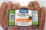 Saag's Naturals Chicken Mango Habanero Sausages 3 Lb Pkg