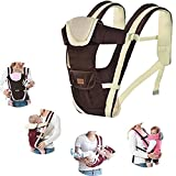 Amazon Price History for:Multifunction Baby Hipseat Carrier Breathable and Comfortable Infant Sling Backpack (Coffee)