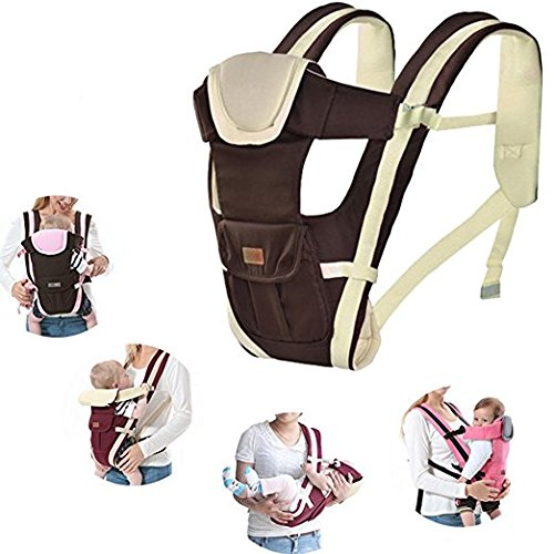 For Sale! Multifunction Baby Hipseat Carrier Breathable and Comfortable Infant Sling Backpack (Coffe...