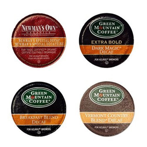 Green Mountain Coffee Roasters 6503 Decaf Variety Coffee K-Cups, 22/box