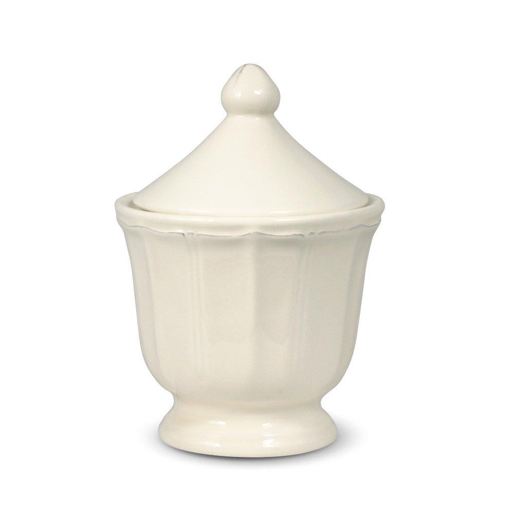 Pfaltzgraff Delaney Sugar Bowl With Lid, Ivory