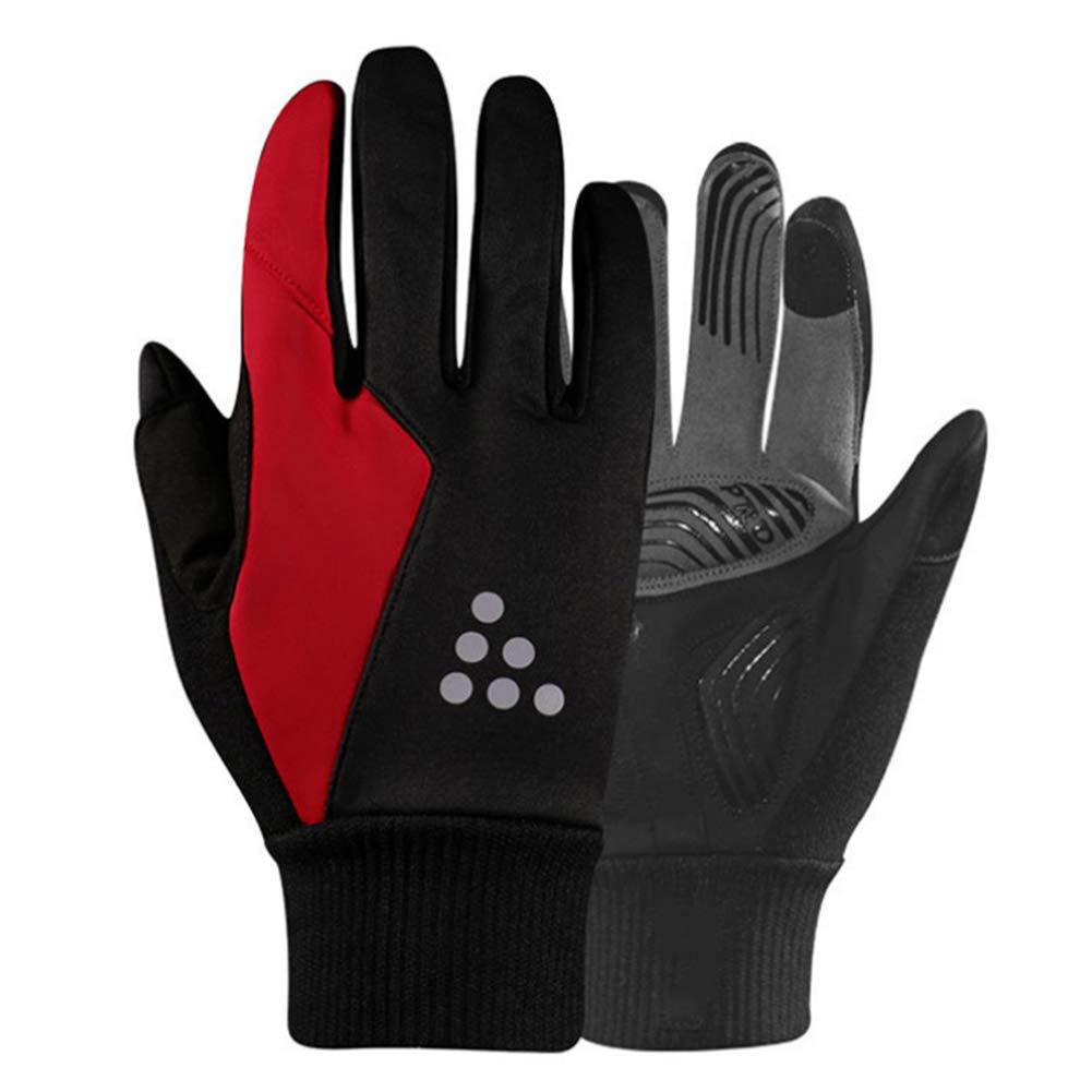 TZTED Fahrradhandschuhe Winter Sport Warm Laufen Arbeit Outdoor Gloves Damen zum Radfahren, Reiten, Laufen, für Outdoor-Sport – für Frauen und Männer