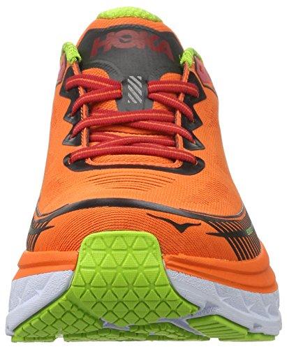 Scarpe Da Corsa Hoka Bondi 5 - Ss17 Rosso Arancio / Oro
