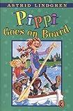 Pippi Goes On Board (Turtleback School & Library Binding Edition) (English and Swedish Edition)