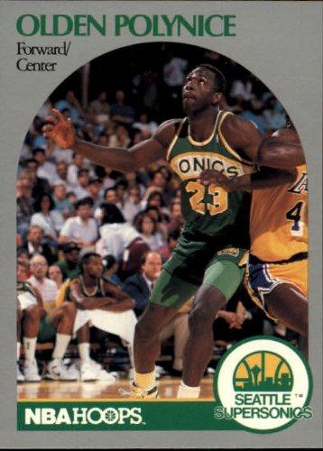 1990 Hoops Basketball Card (1990-91) #283 Olden Polynice