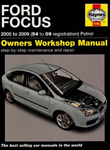 ford focus petrol service and repair manual 2005 to 2009 haynes rh amazon co uk 2001 Ford Focus Manual PDF 2001 Ford Focus Fuse Guide