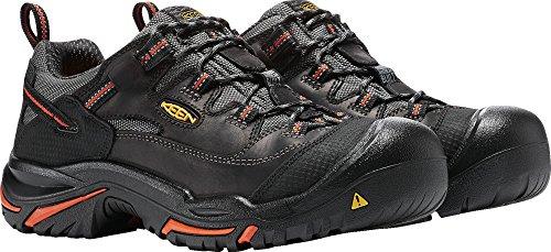 KEEN Utility Men's Braddock Low Steel-Toed Boot,Black/Bossa Nova,10.5 D US by KEEN Utility (Image #9)