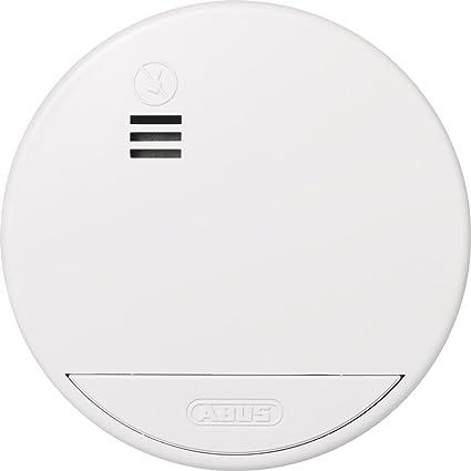 ABUS RWM50 Sensor óptico Inalámbrico - Detector de Humo (Batería, 3 V, Litio