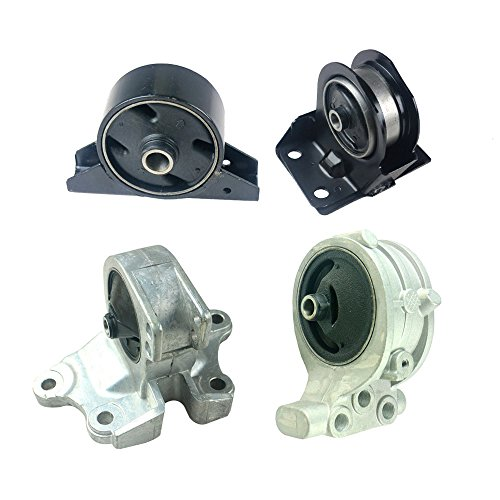 Front Right Rear Engine Motor Transmission Mount Kit Fit for Mitsubishi Galant 99-03 Eclipse 00-05 2.4L Auto 4pcs (Mitsubishi Galant Transmission Mount)