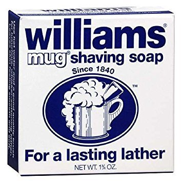 - Williams Mug Shaving Soap 1.75 oz, 2 pk