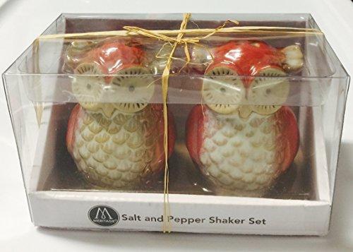 Ceramic Owl Salt And Pepper Shaker