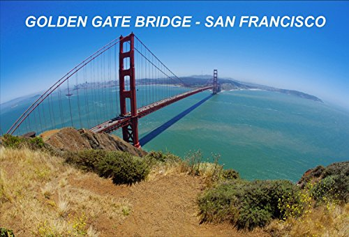 Price comparison product image California USA United States Fridge Refrigerator Magnet (City: Golden Gate Bridge #I7)
