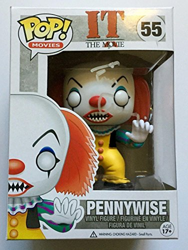[Tim Curry Signed Funko IT The Movie Pennywise POP Figure COA PSA/DNA C] (Wise Signed)