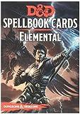 (US) D&D Spellbook Cards Elemental Board Game
