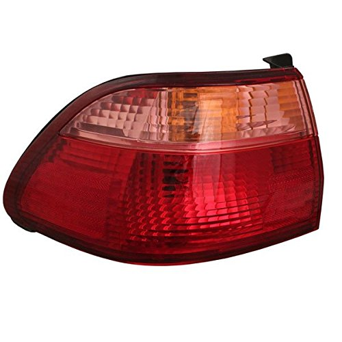HONDA ACCORD TAIL LIGHT LEFT (DRIVER SIDE) (ON/BODY)(SEDAN) 1998-2000 (1998 Honda Accord Tail Lights compare prices)