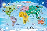 Cobble Hill Map of the World, 48-Piece
