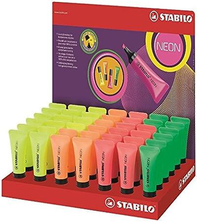 Stabilo 72/42-1 - Pack de 24 rotuladores, fluorescentes: Amazon.es ...
