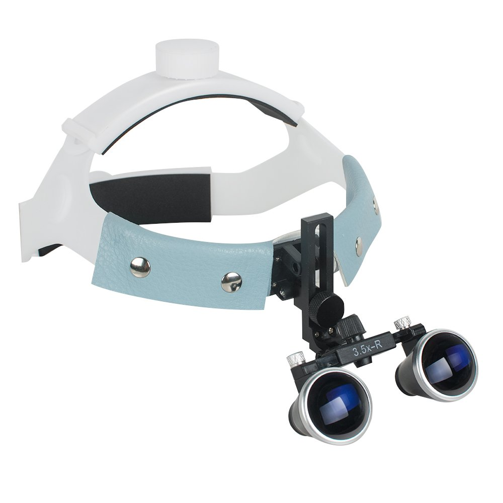 Dental Surgical Loupes Optical Glass Loupe 3.5X-R Dentist Goggles Binocular by Pevor