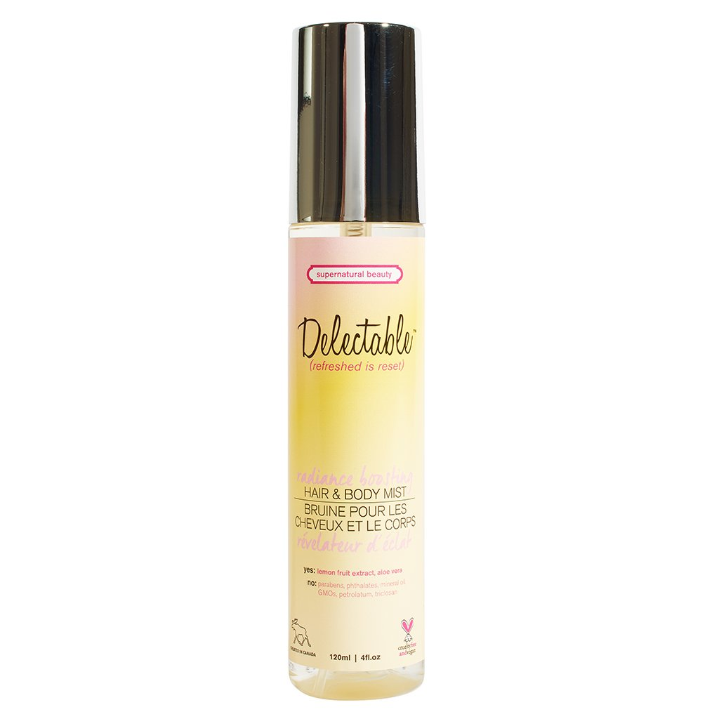 Delectable by Cake Beauty Lemon and Cream Decadent Hair and Body Mist 120 Milliliters C602