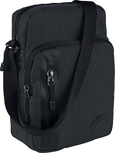 Nike Tech Small Items Bag, Black/Black/(Black), Misc ()