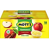 Mott's Cinnamon Applesauce Cups, 4 Ounce, 18 Count