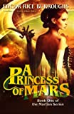 A Princess of Mars (The Martian-Barsoom-John Carter Series, Book 1) (Library Edition)