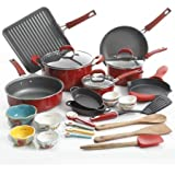 The Pioneer Woman 30pc Cookware Set (Red) Vintage Speckle Limited Edition