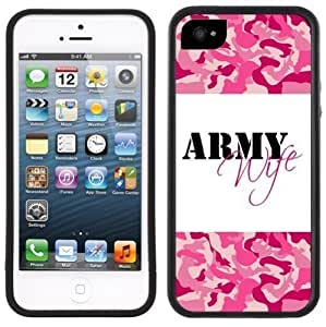 Army Wife Handmade For Iphone 6 Plus 5.5 inch Cover Black Case