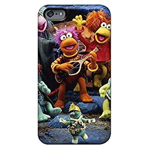 Style phone carrying skins Snap On Hard Cases Covers Collectibles For Case Samsung Galaxy S4 I9500 Cover 6p - fraggle rock