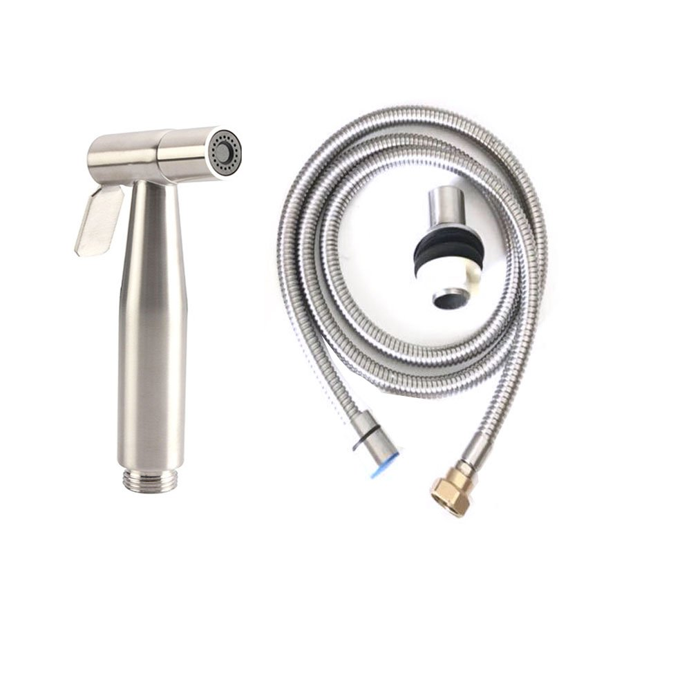 Kitchen Sink Faucets Kitchen Sink Taps, Stainless Steel Swivel Spout With Spray Gun Standard Fittings Spray Gun Pull Out Brushed Nickel Kitchen Sink Tap PECC