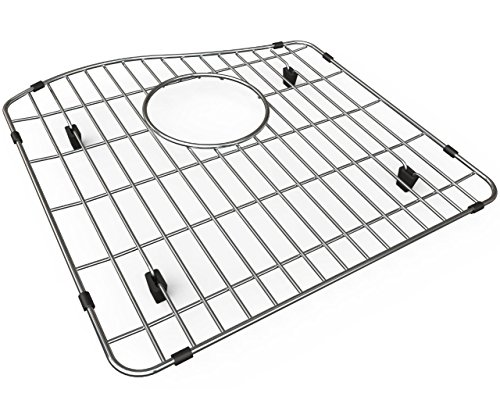 (Elkay LKOBG1617SS Gourmet Bottom Grid for ELGHU3220R (left bowl), Stainless Steel)