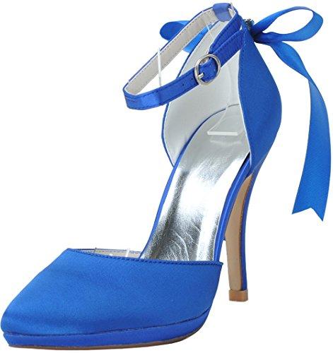 Cheville CFP Femme Bride Bleu CFP Bride q5ztTT