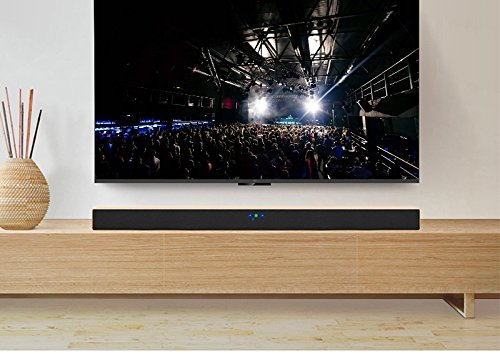 Amazon.com: TV Soundbar Home Theater Surround Sound System, JY Audio A1 Wireless Bluetooth Stereo Speakers (Wood-grain): Home Audio & Theater