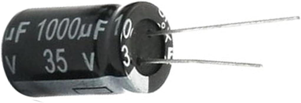 10 pcs 35V 1000uF 105C Condensateur electrolytique de plomb radial 13mm x 20mm R TOOGOO Condensateur electrolytique