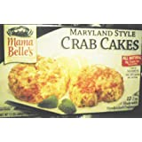 Mama Belle's Maryland Style Crab Cakes 1.5 Lb