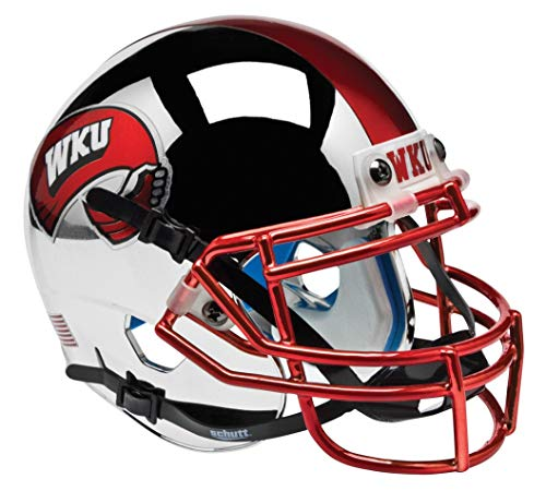 Schutt NCAA Western Kentucky Hilltoppers Mini Authentic XP Football Helmet, Alt. 1