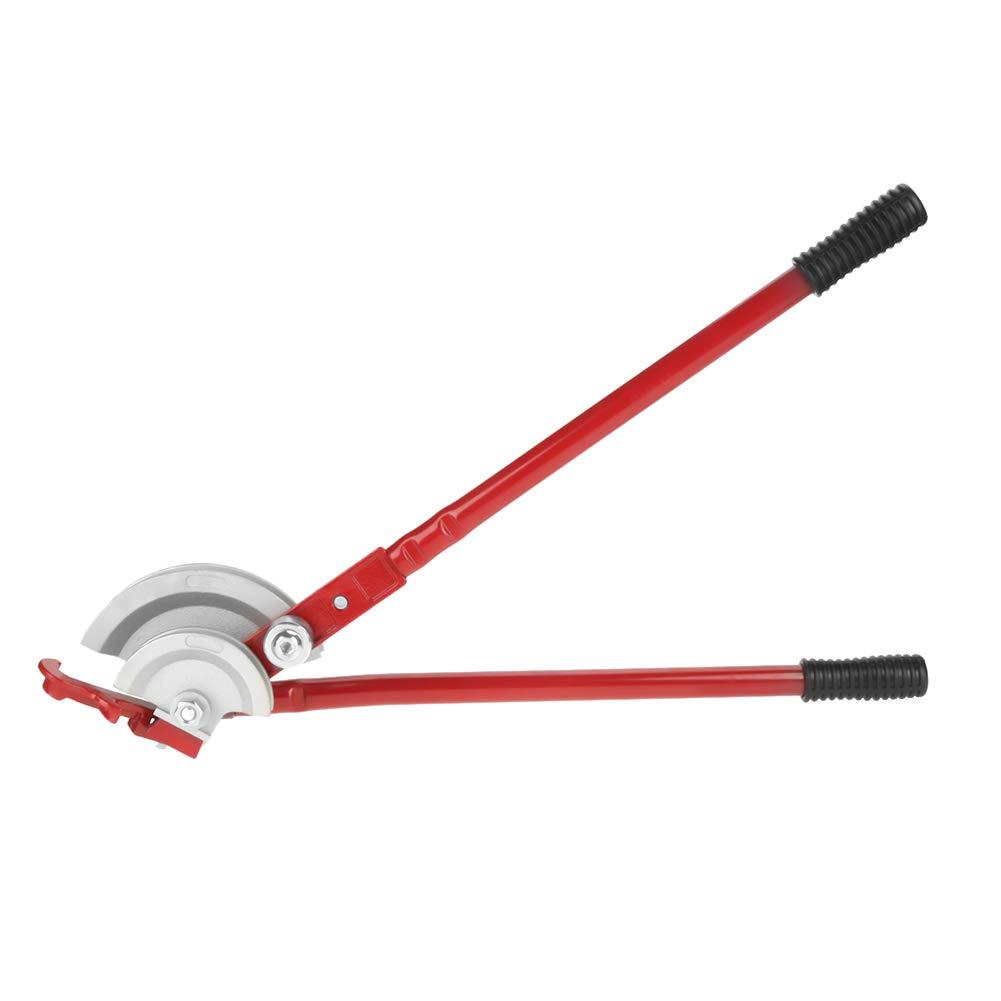 Pipe Bender, 2 in 1 180° Handheld Red Pipe Bender Heavy Duty Tube Bending Tool 15mm/22mm 2 in 1 180°Handheld Red Pipe Bender Heavy Duty Tube Bending Tool 15mm/22mm GOTOTOP