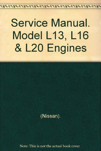 Service Manual. Model L13, L16 & L20 Engines