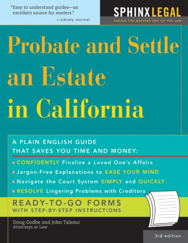 Probate and Settle an Estate in California (Legal Survival Guides) (Legal Survival Guides)