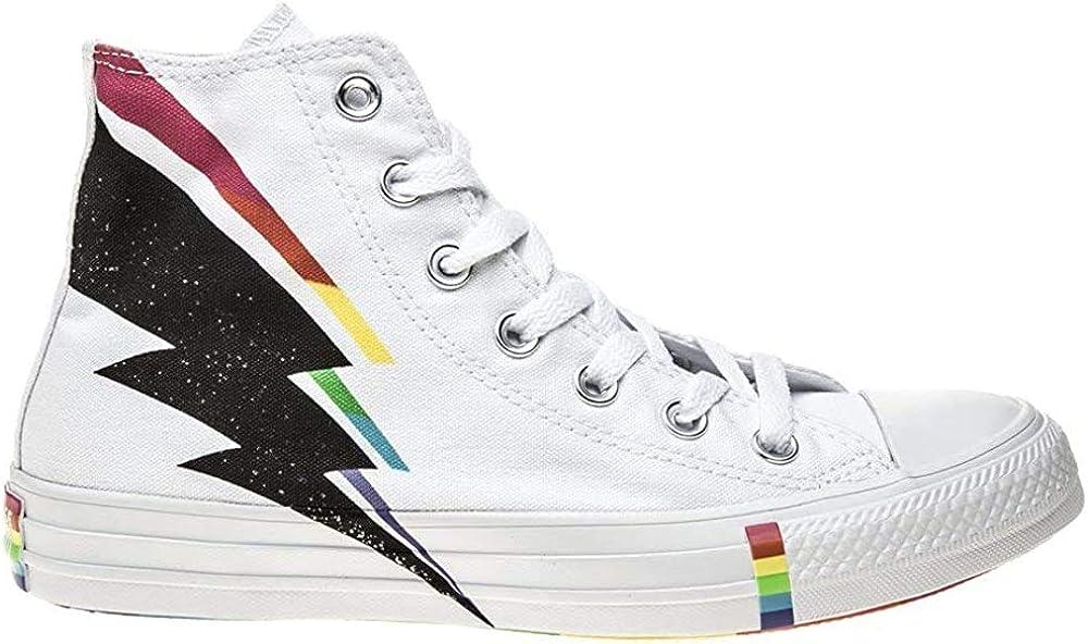 Converse All Star Pride High Garcon Baskets Mode Blanc