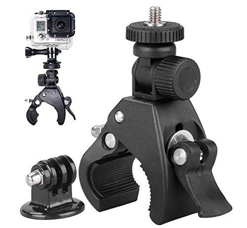 2 opinioni per Shoot® Supporto per fissaggio su Moto e Bicicletta per GoPro Hero 1 2 3 3 + 4 HD