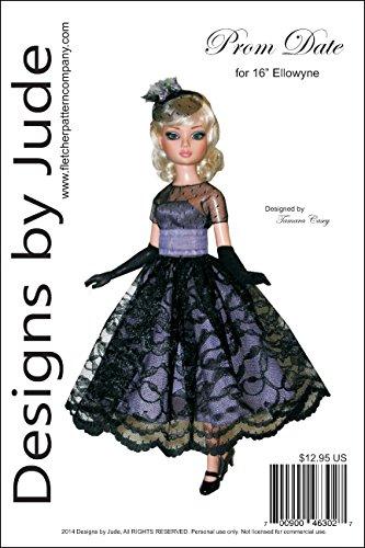 "Prom Date Pattern for 16"" Ellowyne Wilde Dolls Tonner"