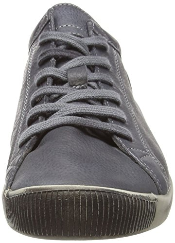 572 Donna anthracite Isla Sneaker Softinos Marrone T6wXxXEp