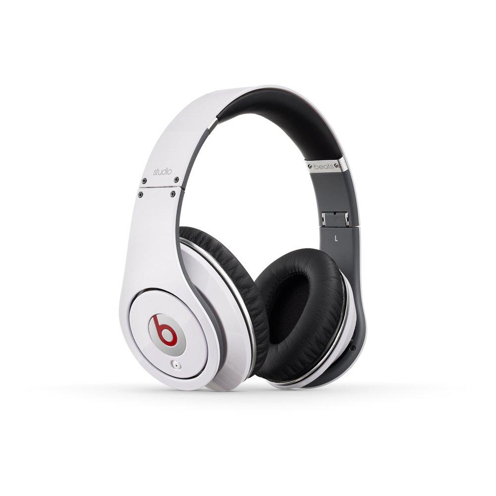 Amazon.com: Beats Studio Wired Over-Ear Headphone - White ...