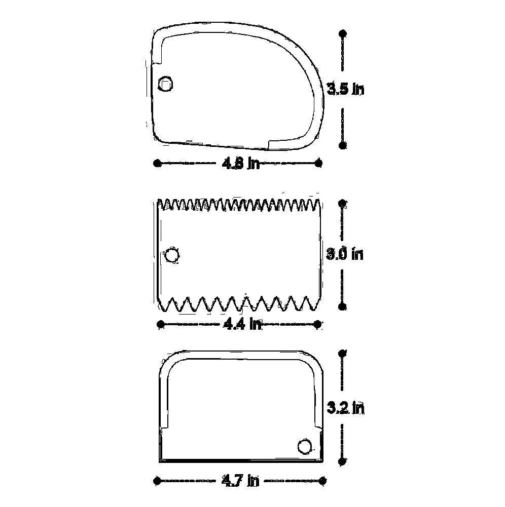 3pc //set spatule de GaTEAU EN PLASTIQUE FONDANT CUISSON PLAIN LISSE dentelure 3 pcs grattoir /à g/âteau