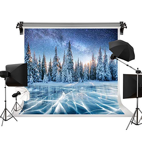 Kate 7x5ft/2.2x1.5m Holiday Winter Backgrounds Star Sky Backdrops