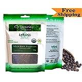 Certified Organic Gourmet Ceylon Black Peppercorns 80g