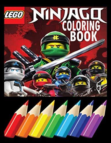 LEGO Ninjago Coloring Book: Coloring Cute LEGO Ninjago  for Kids  2020